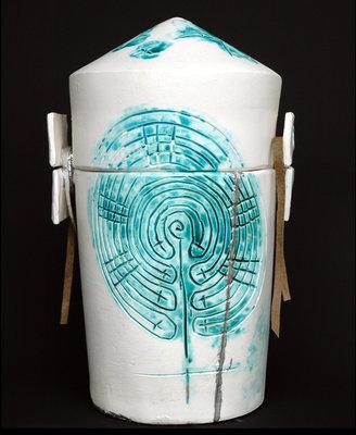 Urn 'Labyrint'
